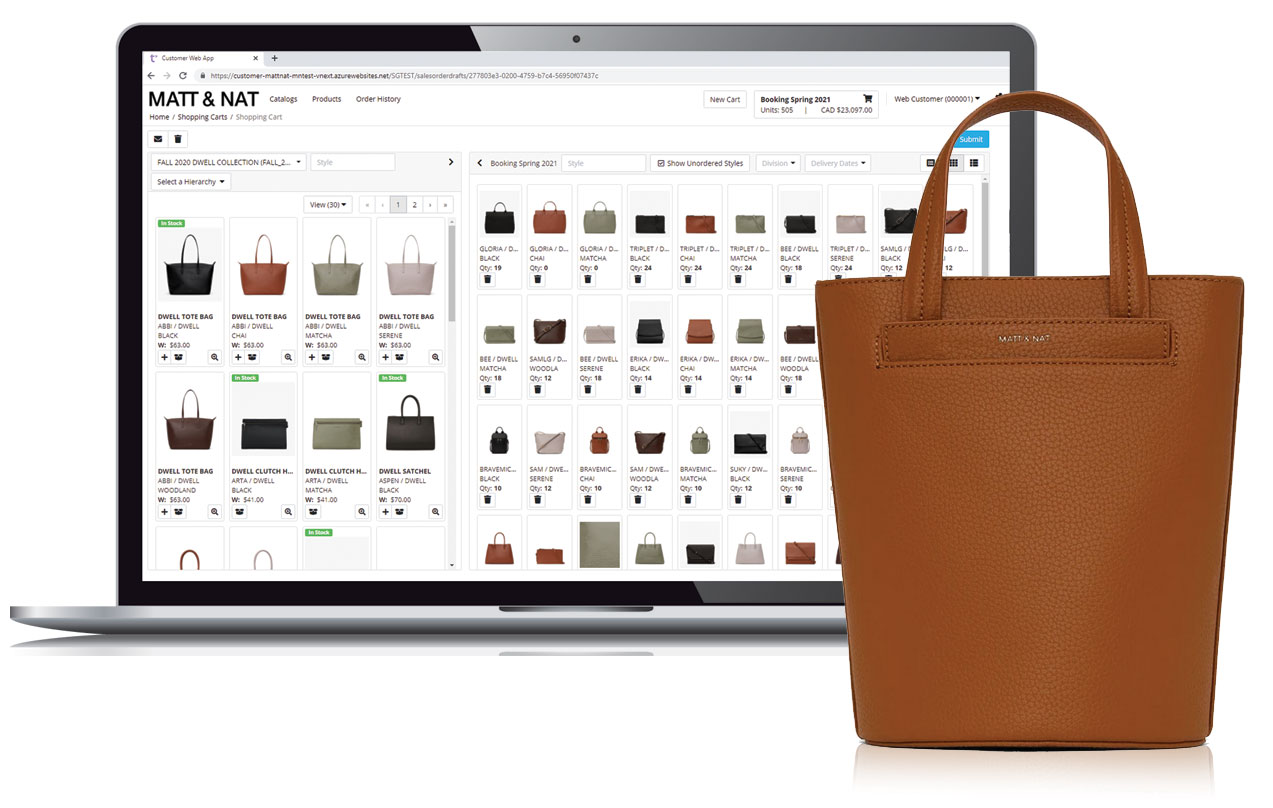 This tool works hand in hand with Trenza Sales Web App.